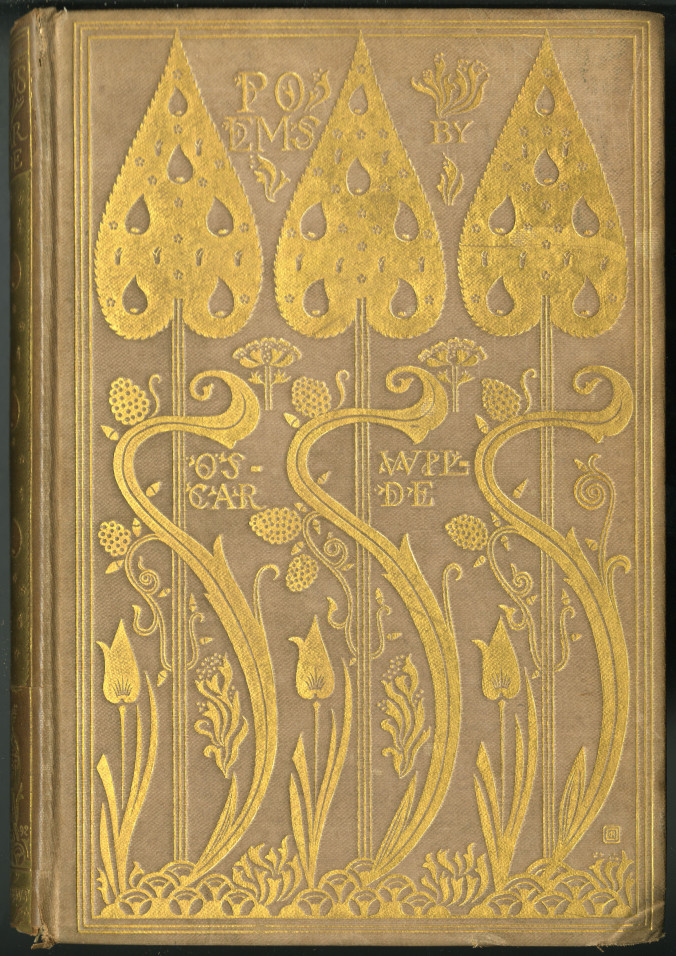 Cover of Poem's by Oscar Wilde