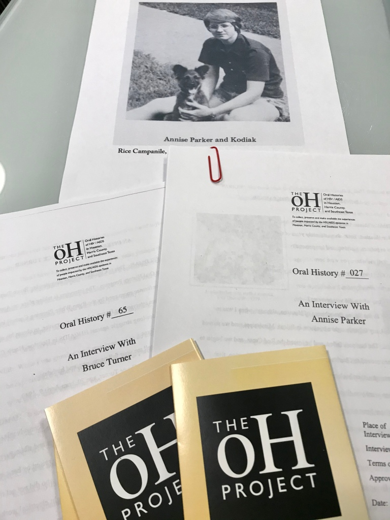 Transcripts from oH Project